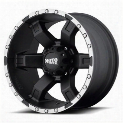 Moto Metal Mo967, 20x10 Wheel With 8 On 6.5 Bolt Pattern - Black - Mo96821080524n