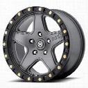 ATX Ravine AX194, 18x8.5 Wheel with 5 on 4.5 Bolt Pattern - Silver AX19488512435