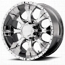 Helo HE791, 18x9 Wheel with 8 on 170 Bolt Pattern - Chrome- HE7918987212