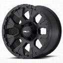 Helo HE878, 17x9 Wheel with 5 on 5.0 Bolt Pattern - Satin Black- HE87879050712N
