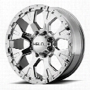 Helo HE878, 17x9 Wheel with 8 on 170 Bolt Pattern - Chrome- HE87879087212N