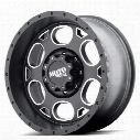 Moto Metal MO964, 18x9 Wheel with 8 on 180 Bolt Pattern - black - MO96489088700