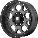 XD Wheels XD126 Enduro Pro, 15x8 with 5 on 4.5 Bolt Pattern - Gray-XD12658012419N