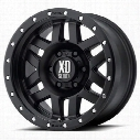 XD Wheels XD128 Machete, 20x9 with 5 on 5 Bolt Pattern - Black-XD12829050700