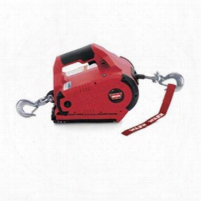 Warn 24v Dc Cordless Pullzall (red) - 885030