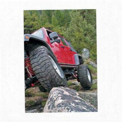 Warn Rock Sliders (black) - 74580