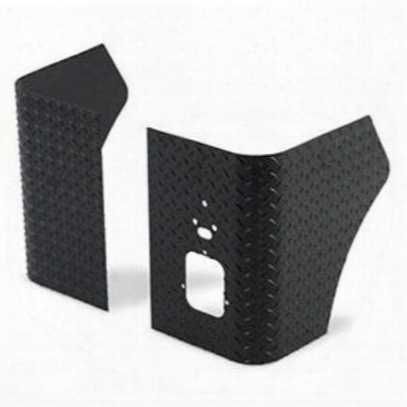Warrior Rear Corners (black) - S904