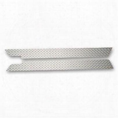 Warrior Rocker Panel Sideplates With Lip (black Steel) - S905u