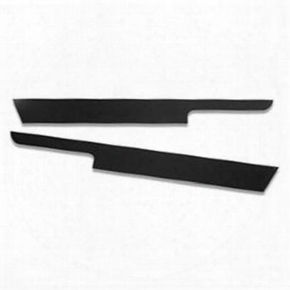 Warrior Rocker Panel Sideplates With Lip (black Steel) - S908ux