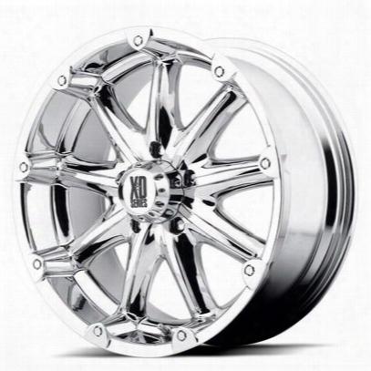 Xd Wheels Badlands Xd779, 22x9.5 With 8 On 170 Bolt Pattern - Chrome-xd77922987218a