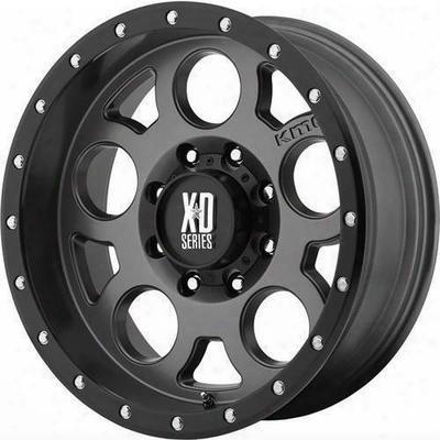 Xd Wheels Xd126 Enduro Pro, 15x8 With 5 On 4.5 Bolt Pattern - Gray-xd12658012419n