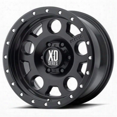 Xd Wheels Xd126 Enduro Pro, 20x9 With 8 On 170 Bolt Pattern - Black-xd12629087700