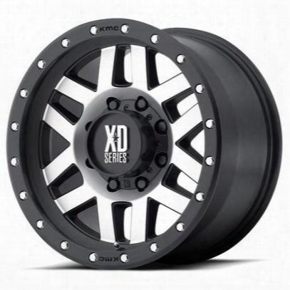 Xd Wheels Xd128 Machete, 20x9 With 5 On 5.5 Bolt Pattern - Black-xd12829055518