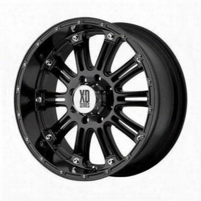 Xd Wheels Xd795 Hoss, 17x9 With 6 On 5.5 Bolt Pattern - Black-xd79579068312n