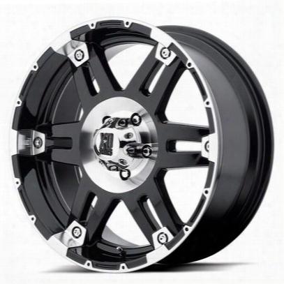 Xd Wheels Xd797 Spy, 17x8 With 8 On 6.5 Bolt Pattern - Gloss Black Machined-xd79778080318