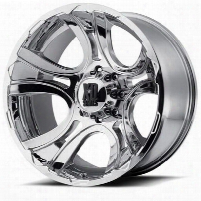 Xd Wheels Xd801 Crank, 20x9 With 6 On 135 Bolt Pattern - Triple Chrome Plated-xd80129063200