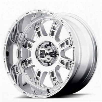 Xd Wheels Xd809, 20x9 With 8 On 6.5 Bolt Pattern - Chrome-xd80929080218