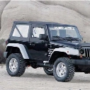 Xenon JK Wrangler Step Down Design Fender Flares (Paintable) - 9000