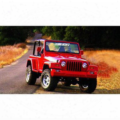 Xenon Tj Wrangler Traditional Design Front Fender Flare (paintable) - 8301