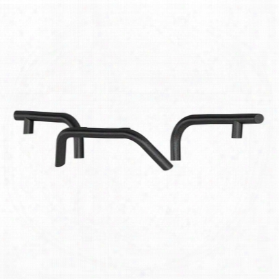 Aries Offroad Trailchaser Front Bumper Round Brush Guards (black) - 2081250