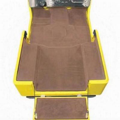 Auto Custom Carpet Deluxe Custom Molded Carpet Kit (desert Tan) - 15064dt