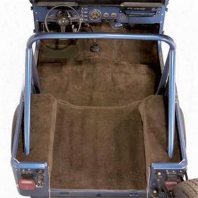 Auto Custom Carpet Standard Molded Carpet Kit (desert Tan) - 14583dt