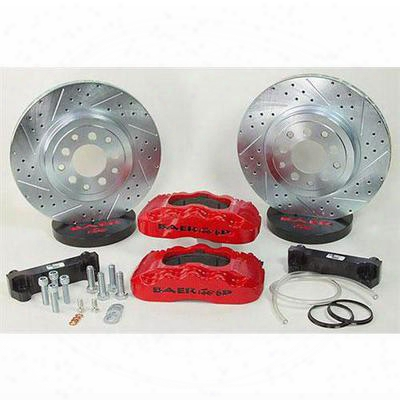 Baer Brakes 13.5 Inch Front Pro Brake System With Red Calipers (red) - 4401000r