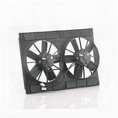 Be Cool 11 Inch Electric Dual Pusher Fan - 75044