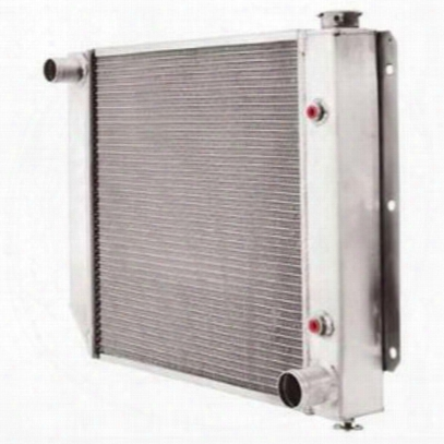 Be Cool Aluminum Conversion Radiator Conducive To Gm V8 Engines With Manual Transmission - 60007