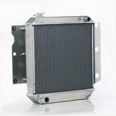 Be Cool Dual Core Radiator Module Assembly For Amc 4 Or 6 Cylinder Engines With Standard Transmission - 81242