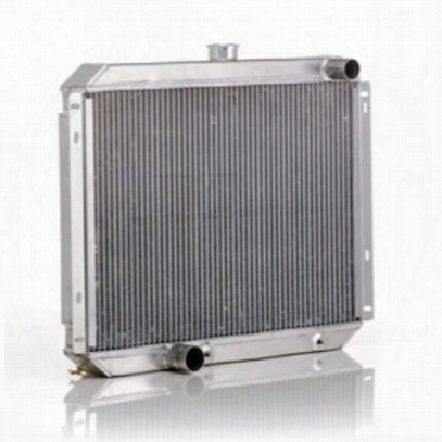 Be Cool Dual Core Radiator Module Assembly For Amc 4,6 Or 8 Cylinder Engines With Automatic Transmission - 83223