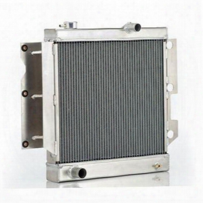 Be Cool Replacement Aluminum Radiator For Amc 4 Or 6 Cylinder Engine With Automatic Transmission - 12242