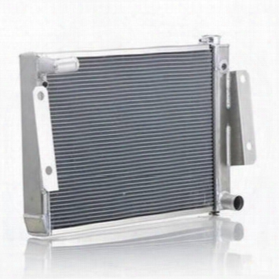 Be Cool Replacement Aluminum Radiator For Amc 4,6 Or 8 Cylinder Engines With Manual Transmission - 60221