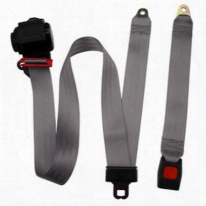 Beams Replacement 3-point Shoulder Harness Front Seat Belt In Gray - Jpyj8791f-65