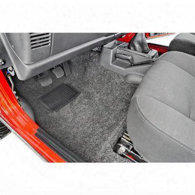Bedrug Premium Front Floor Liner (charcoal) - Brtj97f