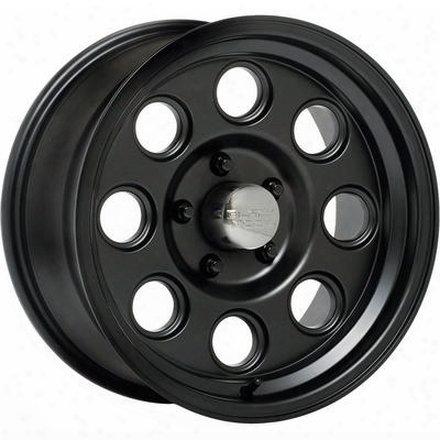 Black Rock Yuma 908b, 15x8 Wheel With 5 On 4.75 Bolt Pattern - Matte Black- 908b583437