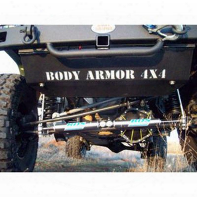 Body Armor Front Skid Plate (black) - Jk-5123