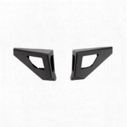 Body Armor Pro-series Front Bumper Wings (black) - Jk-19536-wc