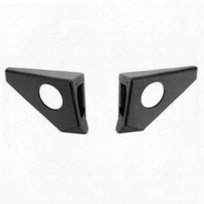 Body Armor Pro-series Front Bumper Wings (black) - Jk-19536-wr