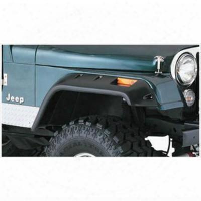 Bushwacker Jeep Cj Front Fender Flares 10059-07 - Cut-out Style