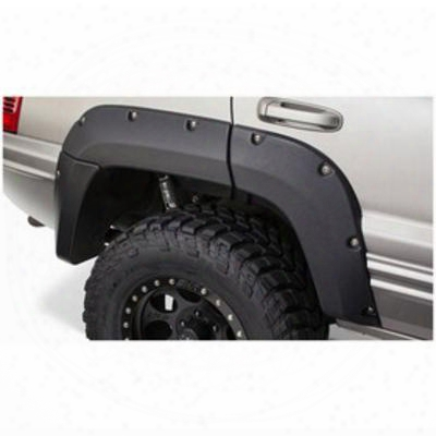 Bushwacker Jeep Grand Cherokee Rear Fender Flares 10072-07 - Cut-out Style