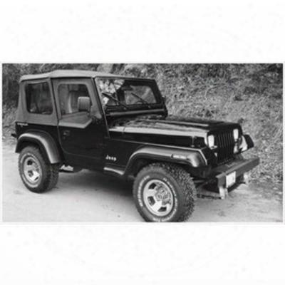 Bushwacker Jeep Yj Wrangler Fender Flare Set 10903-11 - Extend-a-fender