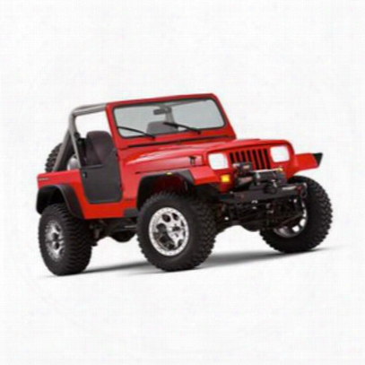 Bushwacker Jeep Yj Wrangler Fender Flare Set 10924-07 - Flat Style