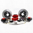Baer Brakes 12 Inch Rear SS4 Brake System with Red Calipers (Red) - 4402000R