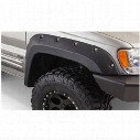 Bushwacker Jeep Grand Cherokee Front Fender Flares 10071-07 - Cut-Out Style
