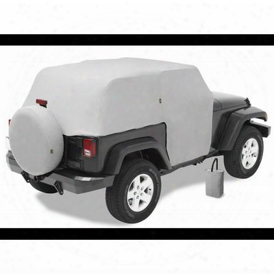 Bestop All Weather Full Door Coverage Trail Cover In Charcoal 81040-09