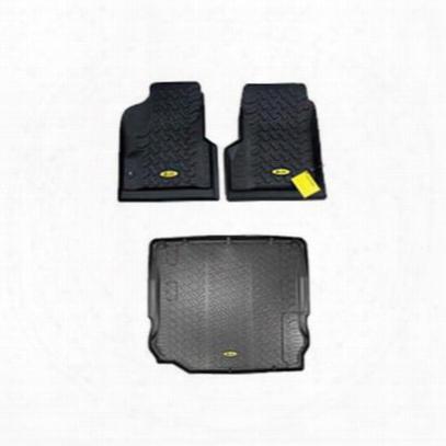 Bestop Floor Liner Package (black) - Fljp7695b