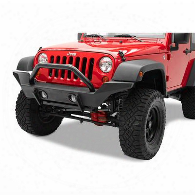 Bestop Highrock 4x4 High Access Front Winch Bumper In Black (textured) - 42918-01