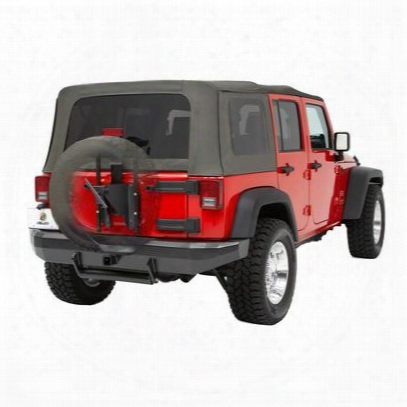 Bestop Highrock 4x 4 Oversize Tire Carrier In Black - 61961-01