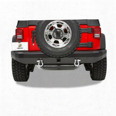 Bestop Highrock 4x4 Rear 2 Inch Receiver Hitch Bumper In Black (black) - 42911-01
